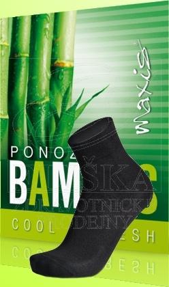 Ponožky Maxis Bambus èerné