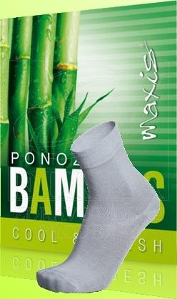 Ponožky Maxis Bambus svìtle šedé