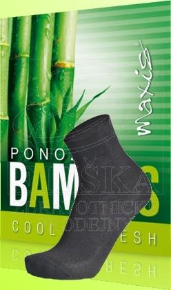 Ponožky Maxis Bambus tmavì šedé