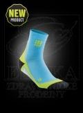 CEP krátké kompresní ponožky havajská modø-zelená