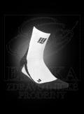 CEP krátké kompresní ponožky bílá-èerná