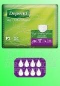 Depend Super Plus - Neprodyšné absorpèní kalhotky
