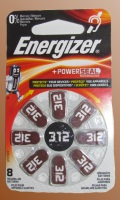 Baterie do naslouchadel Energizer typ 312