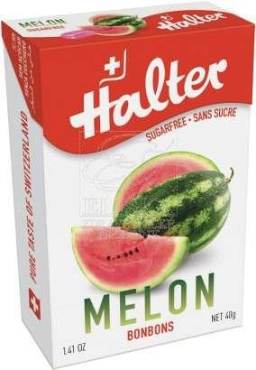 Bonbóny bez cukru Halter - Meloun