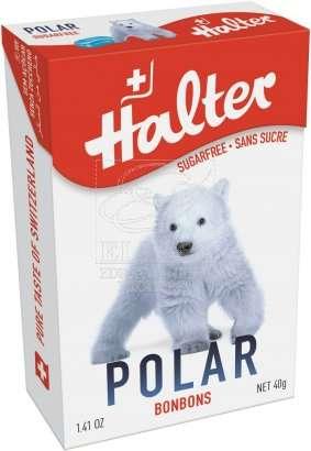 Bonbóny bez cukru Halter - Polar Bear