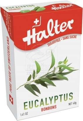 Bonbóny bez cukru Halter - Eucalyptus
