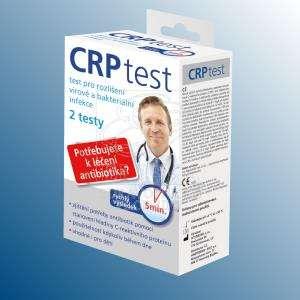 CRP Test<br />Domácí test pro rozlišení virové a bakteriální infekce