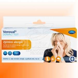Veroval® DOMÁCÍ TEST<br />Zjištìní alergie