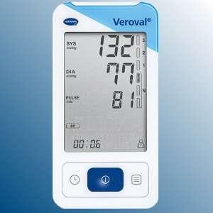 Veroval® EKG / KREVNÍ TLAK<br />Pøenosný pøístroj pro sledování srdeèního rytmu (EKG)<br />a mìøení krevního tlaku