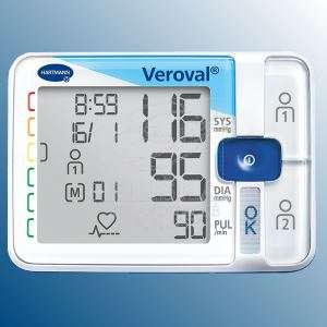 Veroval® Krevní tlak<br />Zápìstní tlakomìr pro rychlé a snadné mìøení