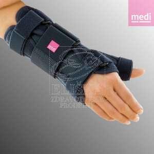 Zápěstní ortéza s fixací palce<br />Manumed T - černá