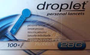 Droplet® Lancety 28 G