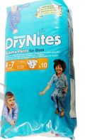 HUGGIES DRY N.MEDIUM BOYS