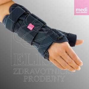 Zápěstní ortéza s fixací palce<br />Manumed T - šedá