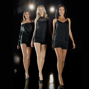 Stehenní kompresivní punčochy mediven® elegance s lemem Platinum