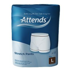 ATTENDS STRETCH PANT LARGE