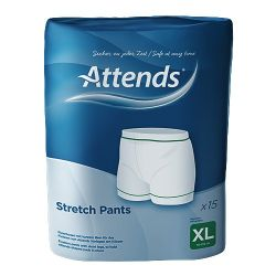 ATTENDS STRETCH PANT X-LARGE