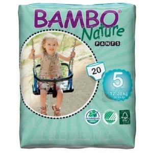Dětské tréninkové kalhotky<br />Bambo Nature Pants Junior 12-20kg
