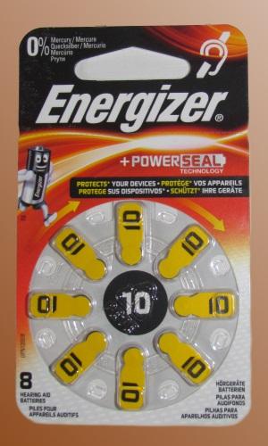 Baterie do naslouchadel Energizer typ 10