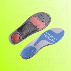 Vložky do pevné obuvi Footdisc EdgePro<br />pro vysokou klenbu