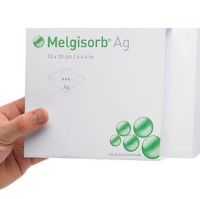 Antimikrobiální - alginátové krytí<br />Melgisorb® Ag