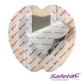 Antimikrobiální krytí<br />Mepilex® Border Sacrum Ag