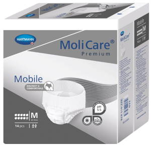 Absorpční kalhotky<br />MoliCare Mobile 10 kapek M