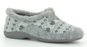Domácí obuv Florett 02778 Carla<br />šedá