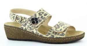 Dámské sandály Florett 07221 Leoni<br />Leopard