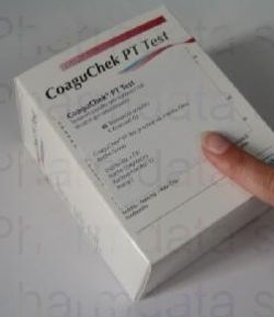 Testovací proužky<br />CoaguChek® XS PT 2x24