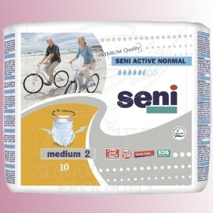 Natahovací elastické absorpční kalhotky<br />Seni Active Normal Medium