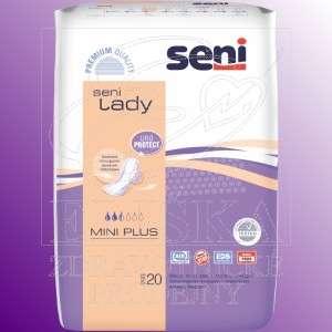 Inkontinenční vložky pro ženy<br />Seni Lady Mini Plus