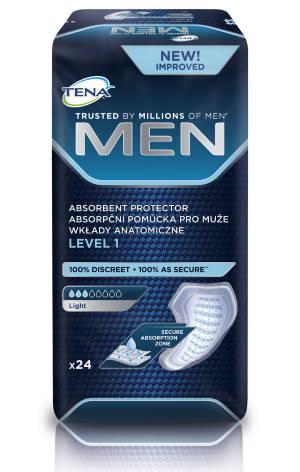 Absorpční pomůcky pro muže<br />TENA Men Level 1