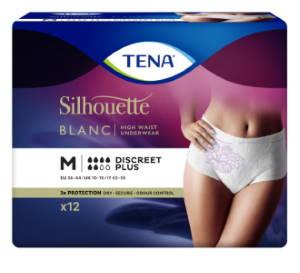 Diskrétní absorpční kalhotky<br />TENA Silhouette Discreet Plus Medium