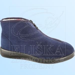 Domácí terapeutická obuv Varomed 60950 Tölz<br />námořní modř
