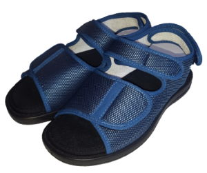 Sandále Varomed 62893 na suchý zip<br />modrá