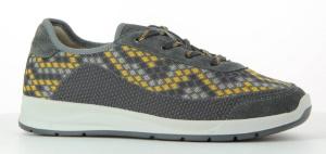 Šněrovací aktivní obuv Varomed 87140 Sydney<br />žluto-šedá