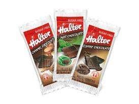 Halter Čokoládový mix Chocolino<br />baleno po 1 ks/ 300 ks