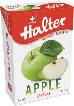 Bonbóny bez cukru Halter - Jablko
