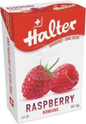 Bonbóny bez cukru Halter - Malina
