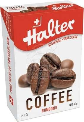 Bonbóny bez cukru Halter - Káva