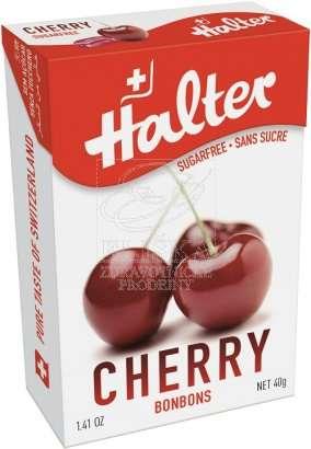 Bonbóny bez cukru Halter - Třešeň (Cherry)