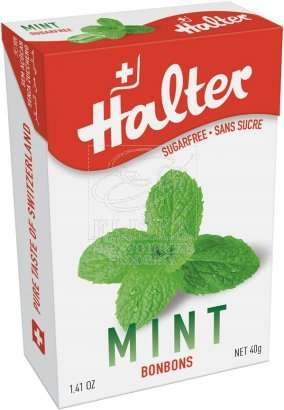 Bonbóny bez cukru Halter - Máta