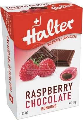 Bonbóny bez cukru Halter - Malina s čokoládou