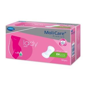 Inkontinenční vložky pro ženy<br />MoliCare Lady 2 kapky
