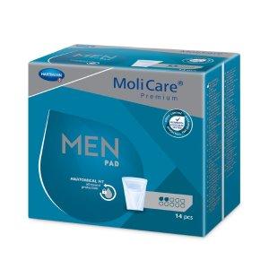 Inkontinenční pomůcky pro muže<br />MoliCare Men 2 kapky