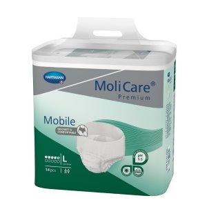 Absorpční natahovací kalhotky<br /> MoliCare Mobile 5 kapek L