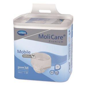 Absorpční natahovací kalhotky<br /> MoliCare Mobile 6 kapek M
