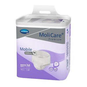 Absorpční natahovací kalhotky<br /> MoliCare Mobile 8 kapek M