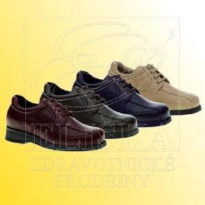 Dámská diabetická obuv MEDI Hanka - černá
